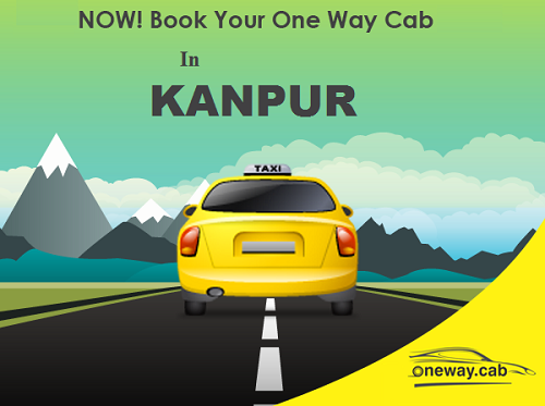 book one way cab in Kanpur