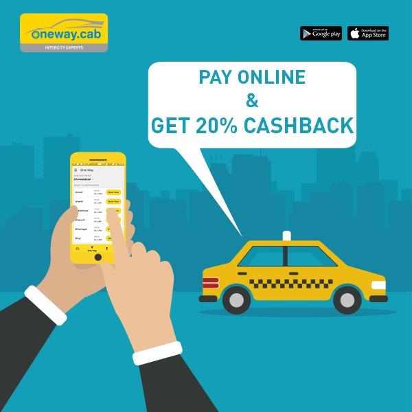Go Cashless & Get 20% Cashback